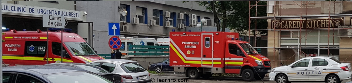 What to do in case of an emergency in Romania