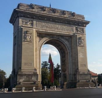 The Triumphal Arch in Bucharest picture